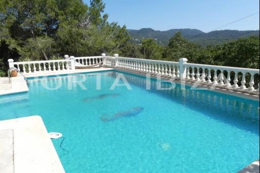 cala tarida villa pool terrace