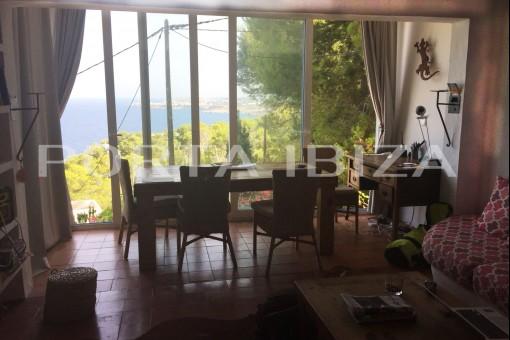 cala moli view from inside casa