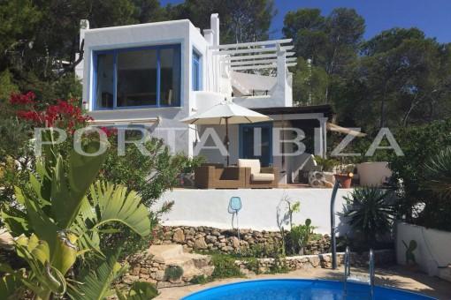 Zauberhaftes Haus in der Cala Moli mit herrlichem Meerblick