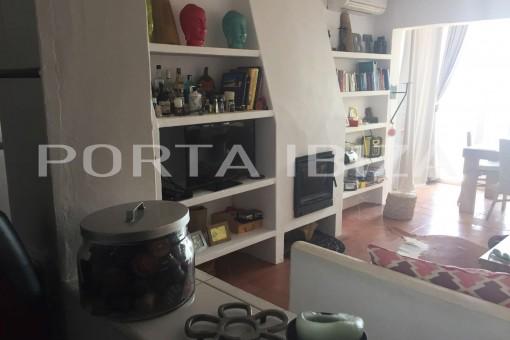 house cala moli open kitchen