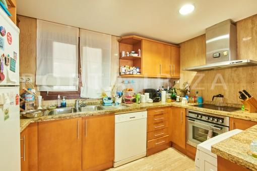 kitchen cala carbo apartment