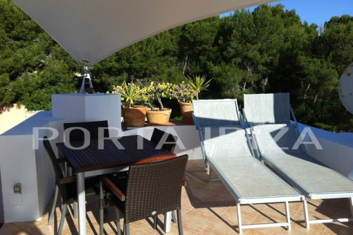 roof terrace calo den real house