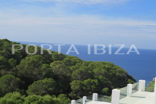 cala vadella sea view villa