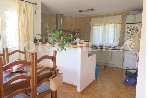 open kitchen cala vadella house