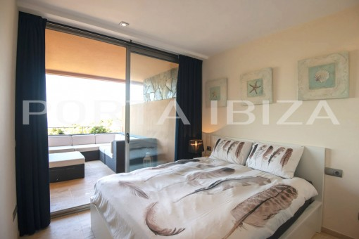 bedroom cala carbo apartment