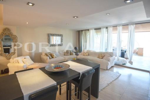 cala carbo livingroom apartment