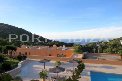 cala carbo community pool apartment