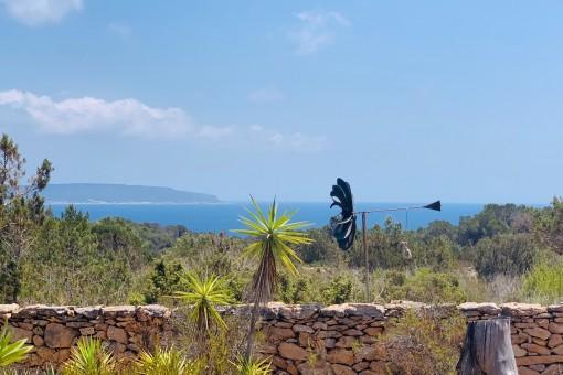 Liebhaberobjekt mit Meerblick in Formentera