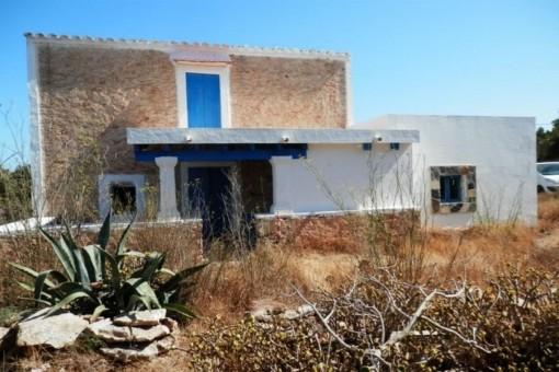 Alte renovierungsbedürftige Finca in Formentera