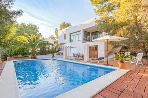 Schöne Finca  mit Pool und Vermietlizenz in der Nähe von Cala Salada, San Antonio de Portmany - kaufen