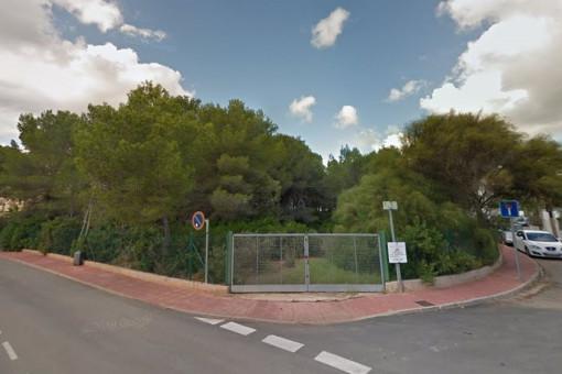 Baugrundstück in Santa Eularia del Río