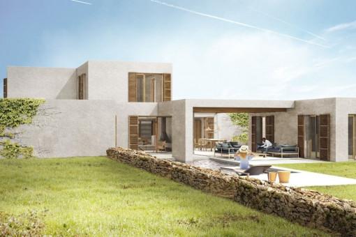 Neubaugrundstück für den Bau einer Finca auf Formentera